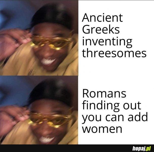 Przewaga Rzymian nad Grekami ;)