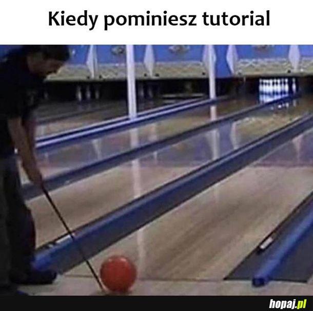 Pomijajnie tutorialu