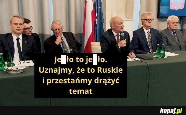 Ustalenia komisji