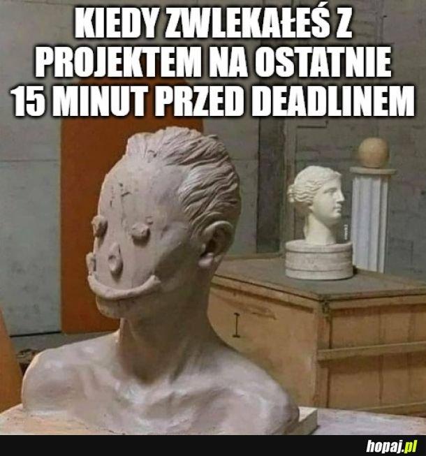 Sztuka deadlinowa