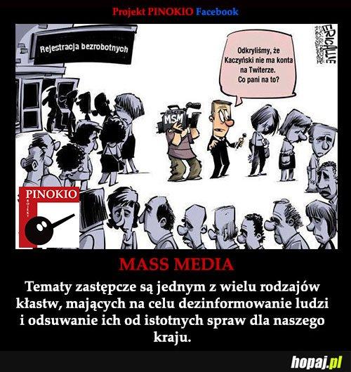 Projekt Pinokio - przeciw propagandzie medialnej i politycznej