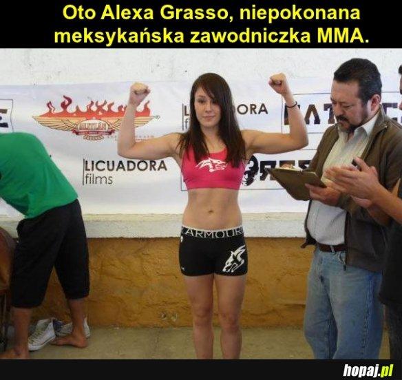 Meksykańska zawodniczka MMA