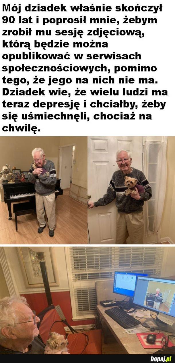 Szczęśliwy dziadek