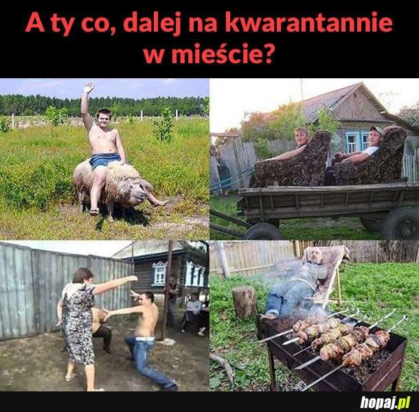 Kwarantanna na wsi