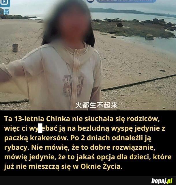 Okno Życia po chińsku