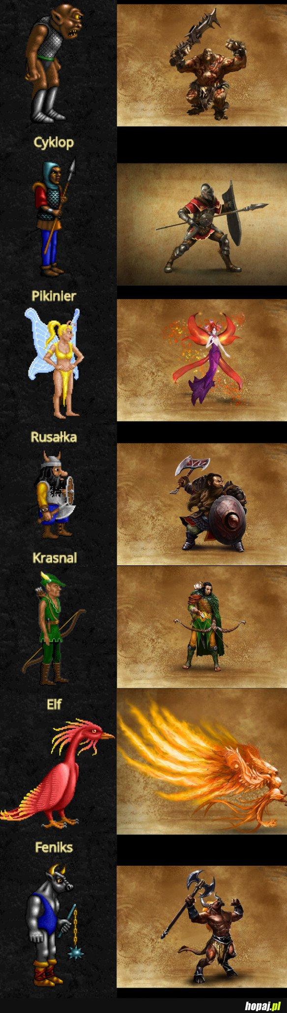 HEROES I VS HEROES VII