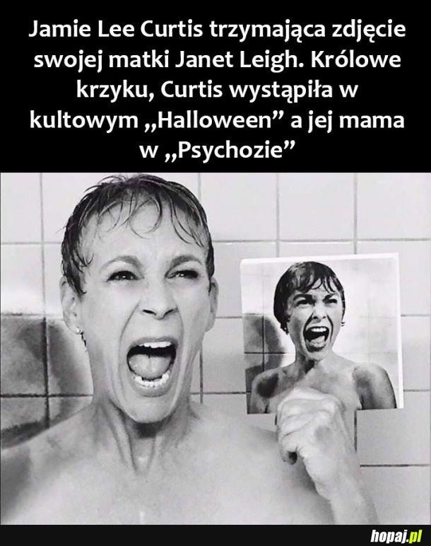 Jamie Lee Curtis i jej mama