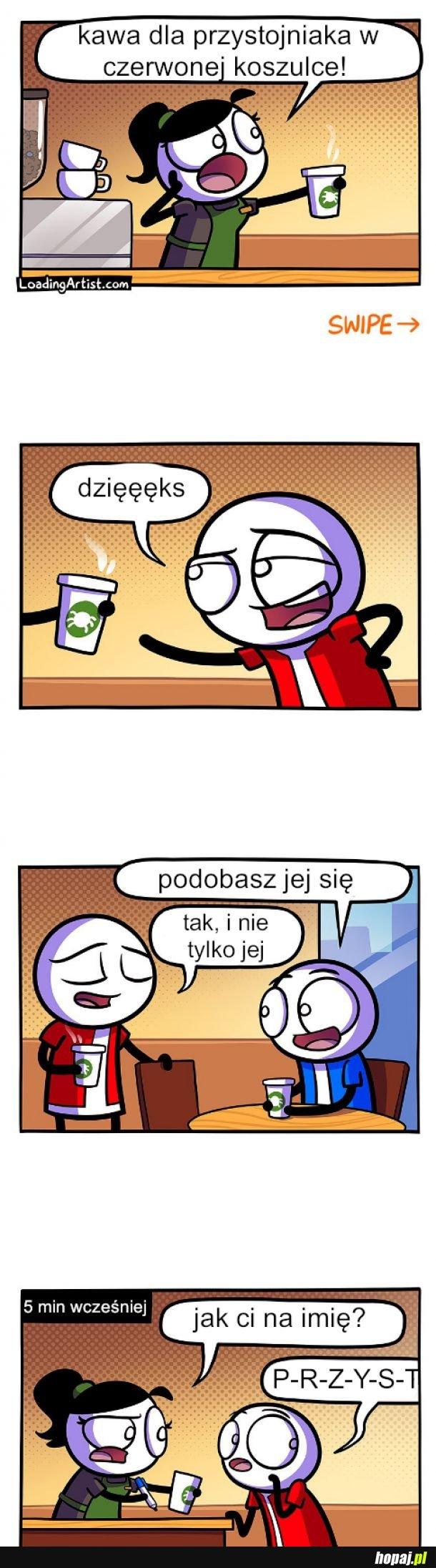 Kawa w Starbaksie