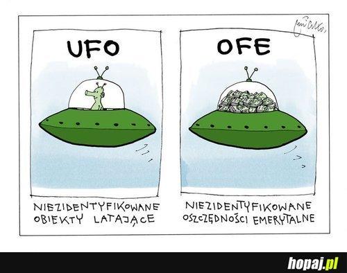 Niezudentyfikowane obiekty latające