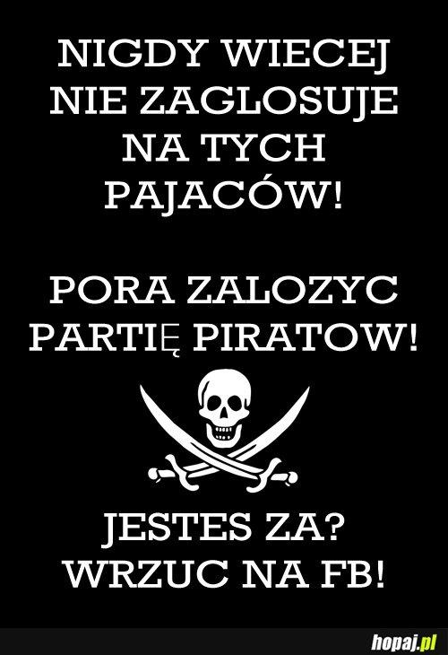Zakładamy partię piratów!