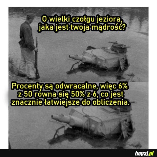 Mądrości czołgu