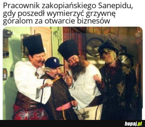 Zakopiański sanepid
