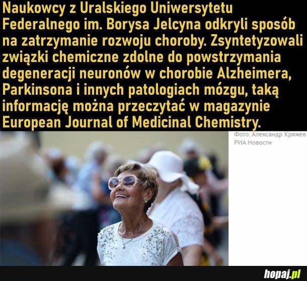 W Rosji pokonano chorobę Alzheimera