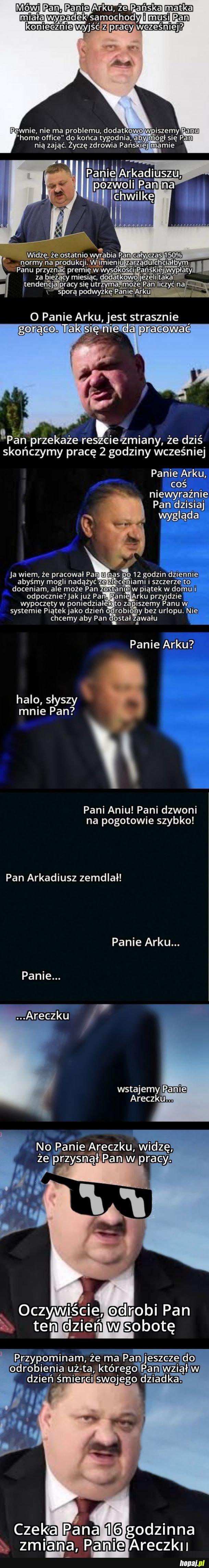 Panie Areczku