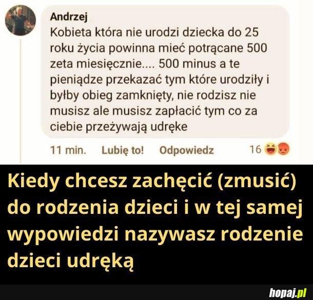 Andrzej, to jeb... nie wyjdzie