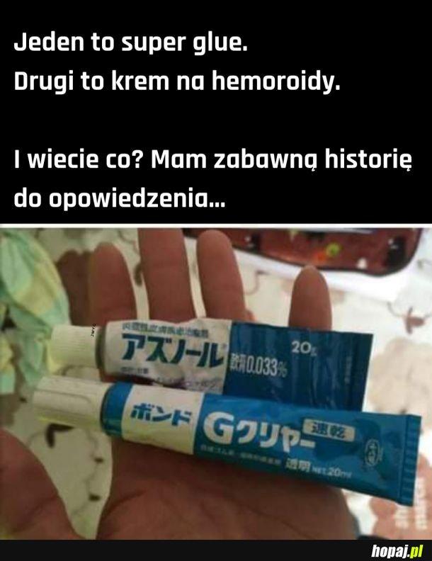 Super glue na hemoroidy