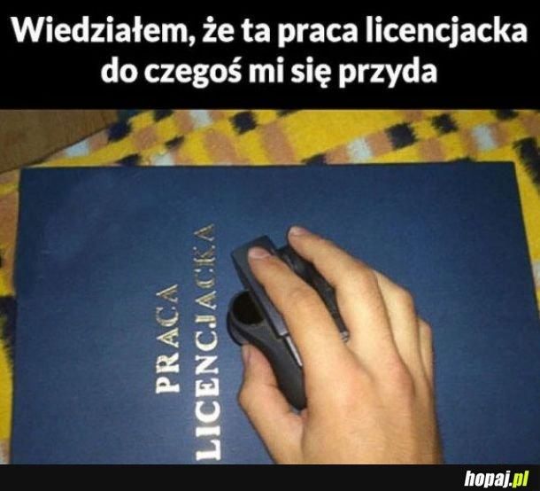 Licencjat taki ważny