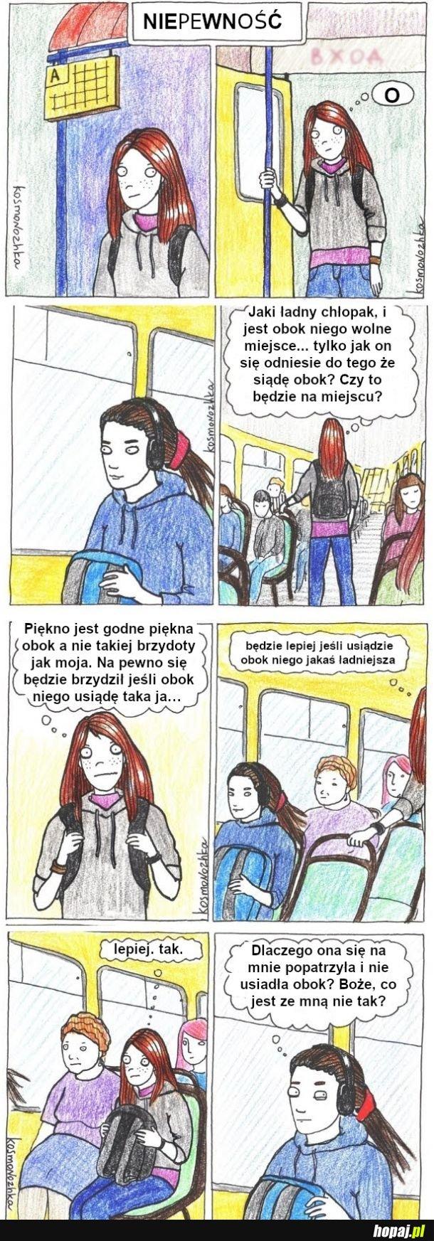 Sytuacja w autobusie