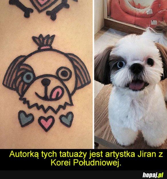 Kreskówkowy Tatuaż Hopajpl