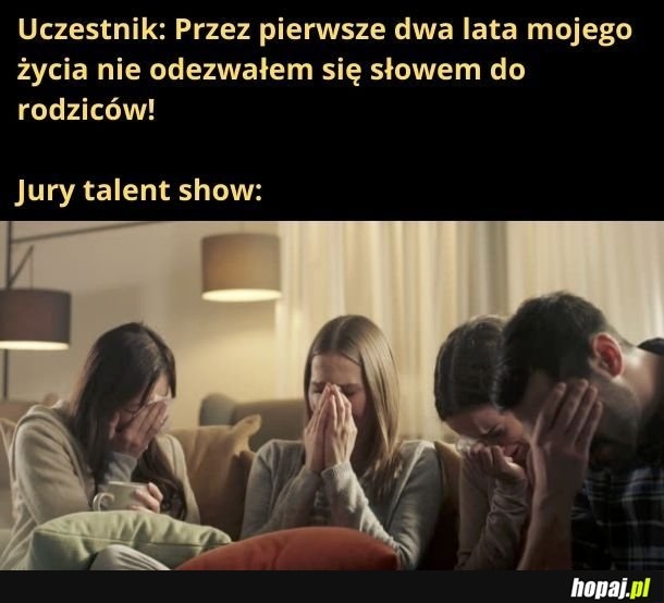 Jury talent show takie jest