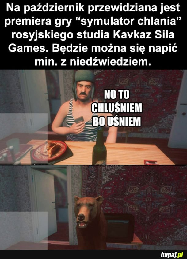 No to chluśniem
