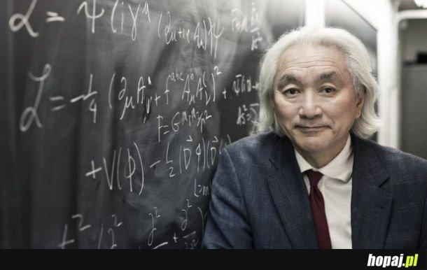 Dziś mija 74. rocznica urodzin Michio Kaku