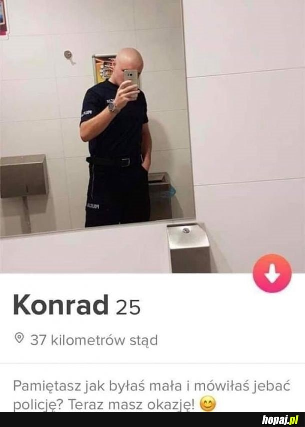 Policja na Tinderze