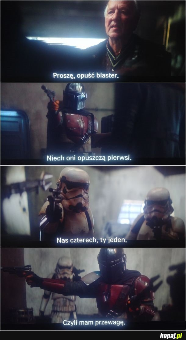Badass level Mandalorian