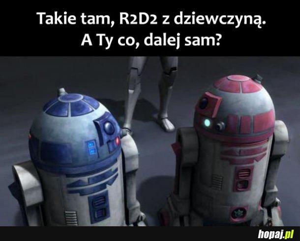 R2D2 i dziewczyna