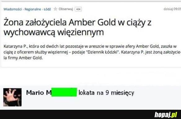 Amber niespodzanka