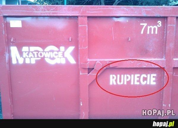 """W Katowicach mają kosze na """"rupiecie"""""""