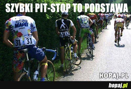 Szybki pit-stop to podstawa