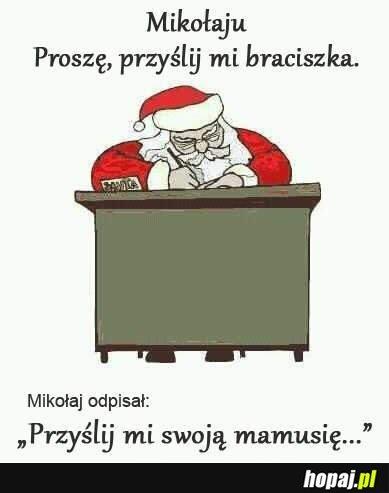 życzenia Do św Mikołaja Hopajpl