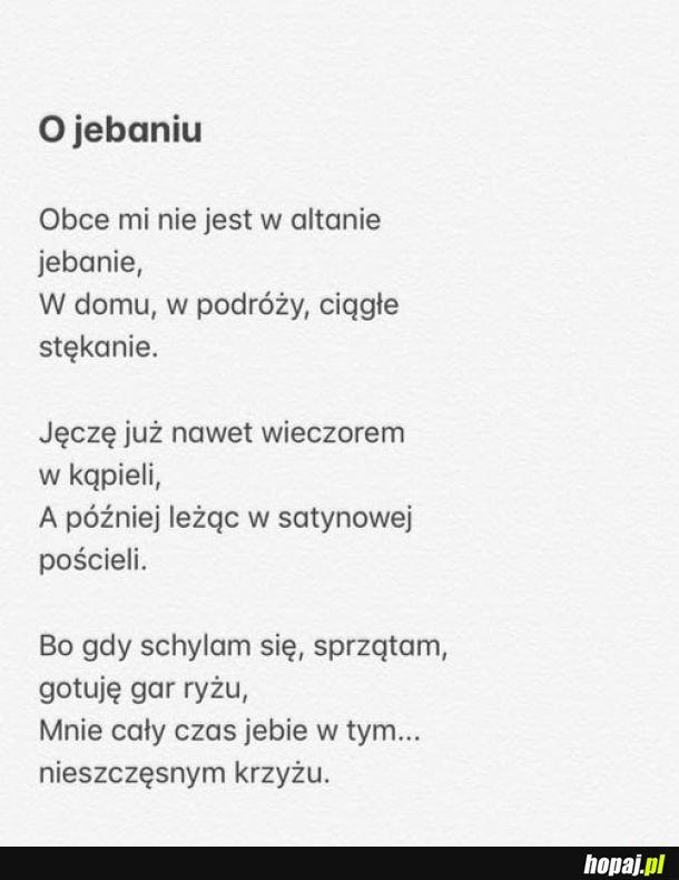 Poezja na dziś