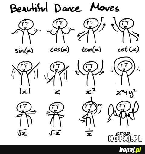 Naucz się tańczyć na matmie