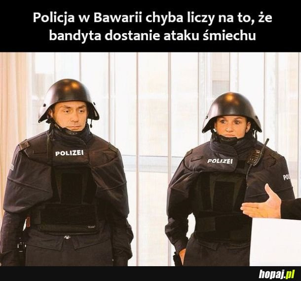 Policja w Bawarii