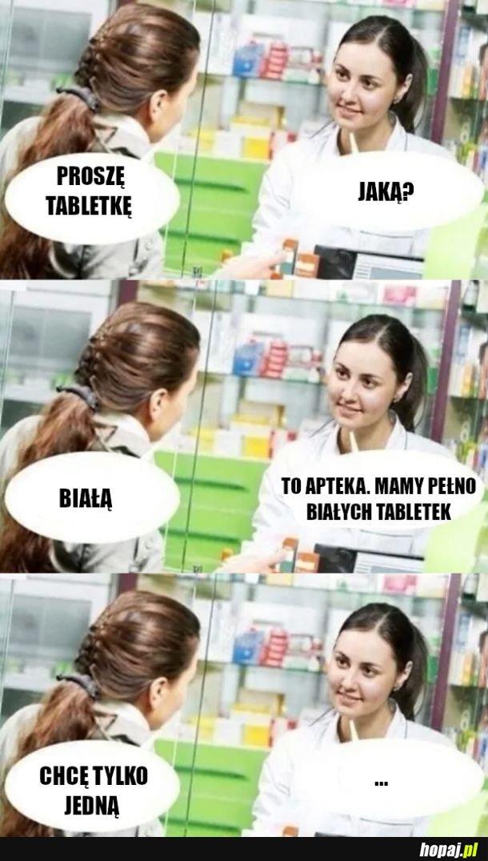 Miejsce na tabletki