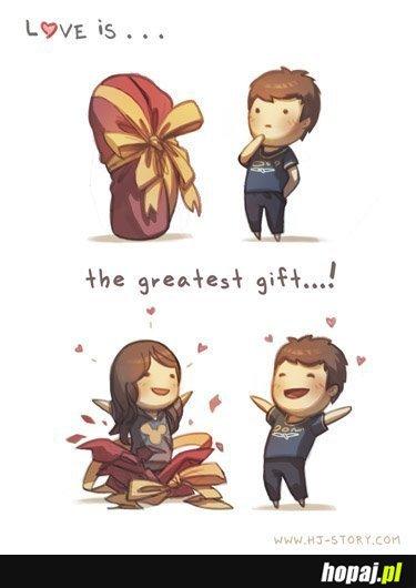 Miłość to najwspanialszy prezent