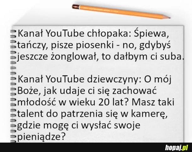 Kanał na Youtube