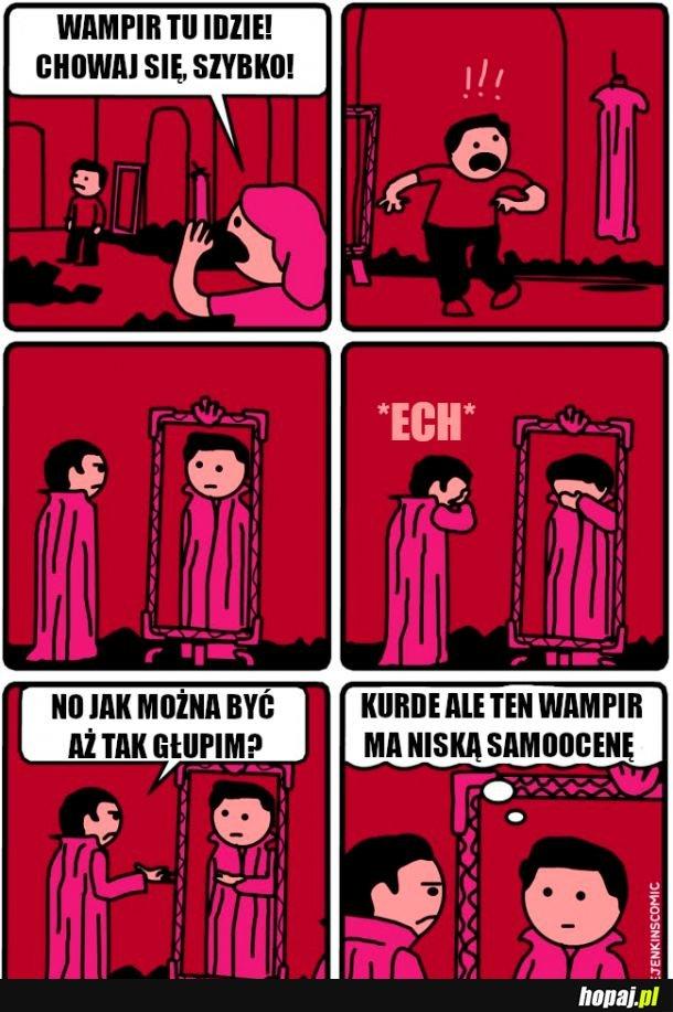 Zamknij zamki, nadchodzi wampir