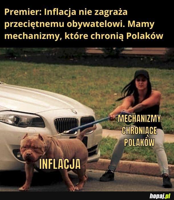 Dobra Inflacja, dobra... Nie jedz mi ręki!!!