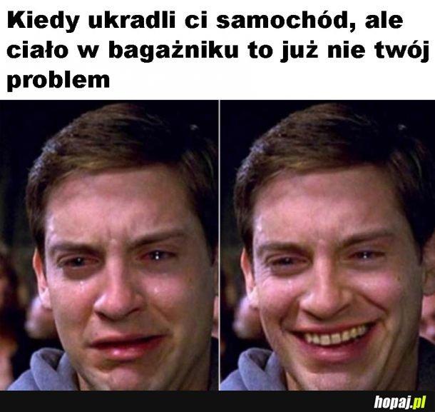I problem z głowy