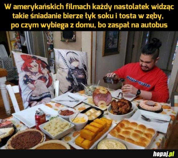 Śniadania w filmach