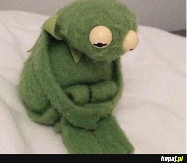 Nie pozwól aby Kermit poczuł się pominięty, złóż mu życzenia!