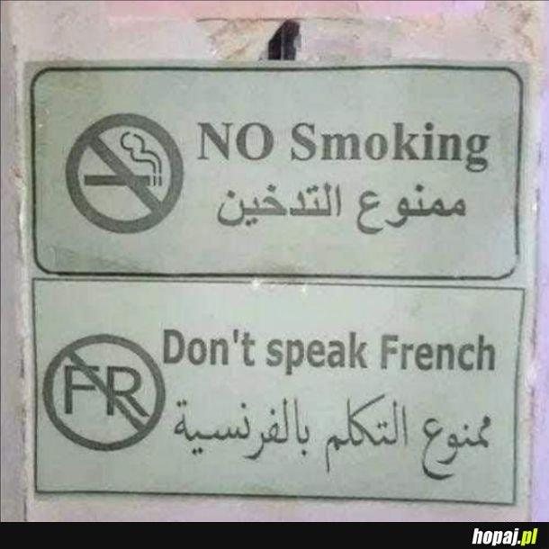 Francuski to żart