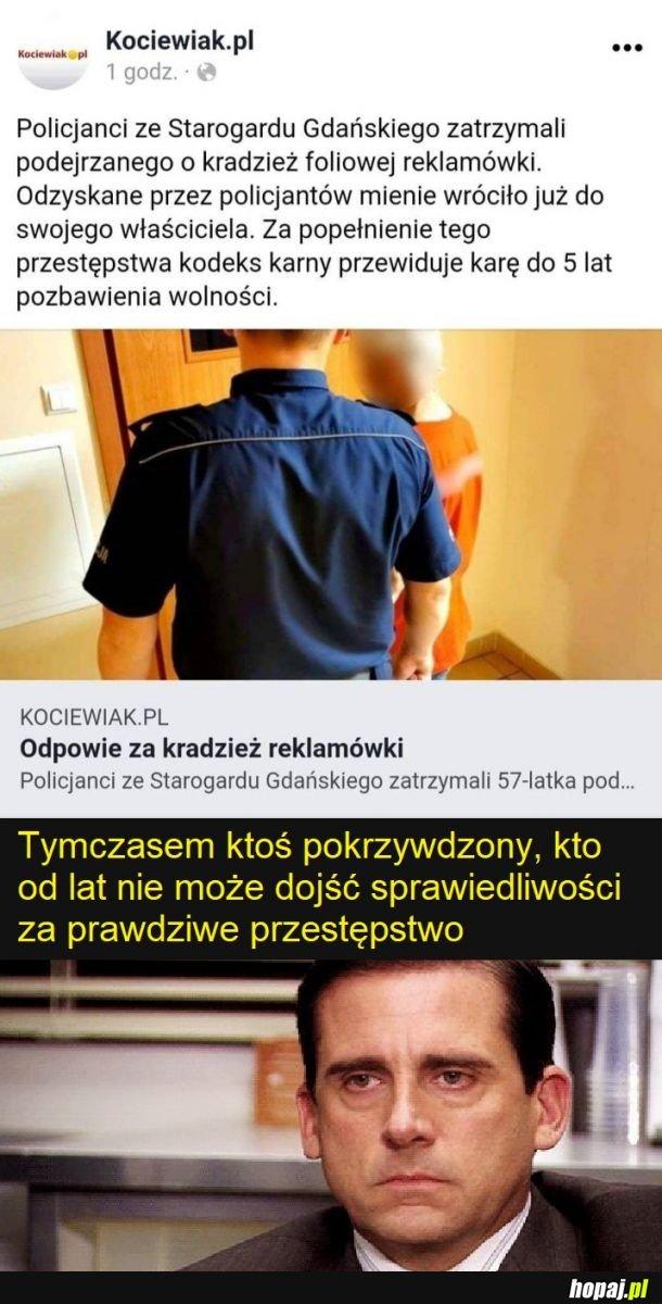 Brawo policja. Brawo polskie prawo
