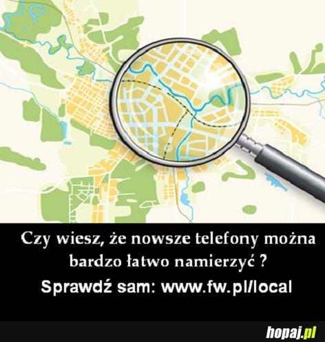 Z serii: Gdzie on jest? ;)