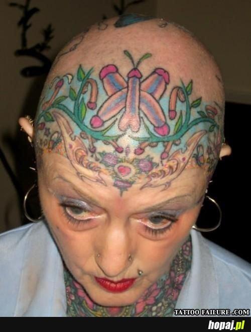 Udany tatuaż