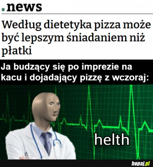 Zdrowa pizza