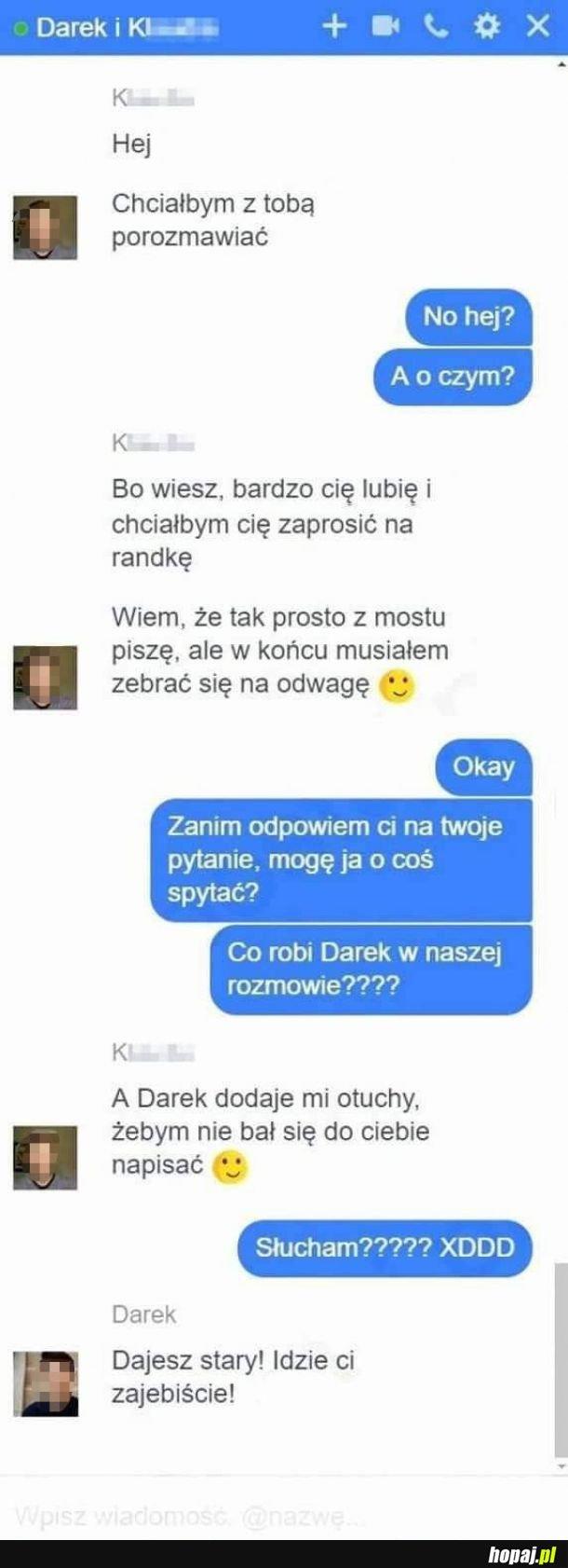 Rozmowa z Darkiem